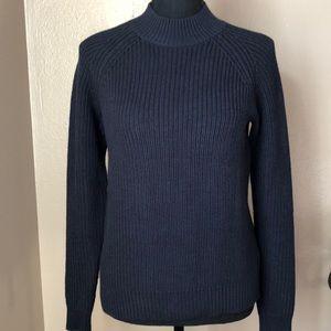 H&M back zip sweater